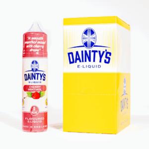 EcoVape Dainty's range Cherry Menthol 50ml Shortfill