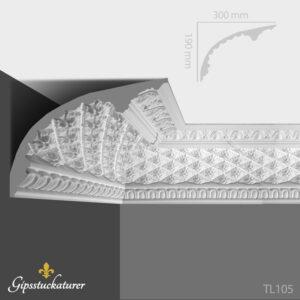 gips-stuckaturer-stockholm-sekelskifte-dekorativa-taklister-taklist-tl105-gipsstuckaturer-se