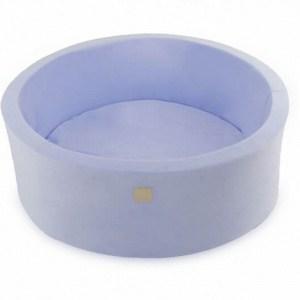 Ballenbak lichtblauw velvet