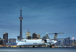 flying porter with a baby, porter airlines with a baby, porter with a baby