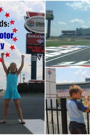 North Carolina with Kids: Charlotte Motor Speedway Tours