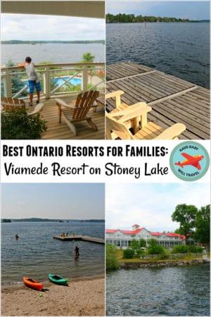 Ontario Resorts for Families: Viamede Resort on Stoney Lake