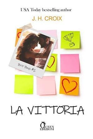 Cover reveal   La vittoria di JH Croix