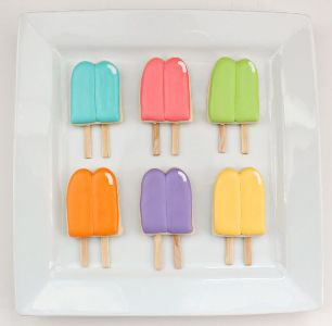 Pretty Popsicle Cookies - 15 Easy Summer Cookie Recipes