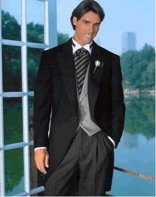 Tuxedo Black Cutaway Daytime Formalwear Coat Only