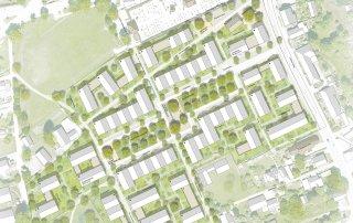 Bild: Tittmoning Neustad - Der zentrale Platz als neue Mitte , Plan: ver.de
