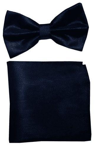 Kids Silver Sequin Pre-Tied Bow Tie- Boys-Girls