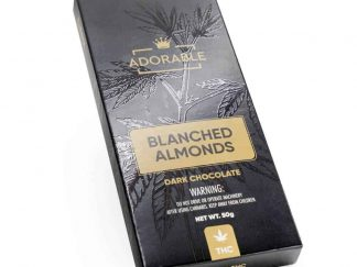 200mg THC infused Dark Chocolate – Adorable