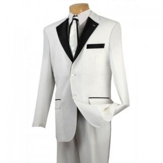 Big Mens Portly Tuxedo ONE BUTTON Notch Lapel All Wool