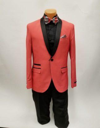 Tuxedo One Button Shawl Lapel Prom and Wedding Tuxedo