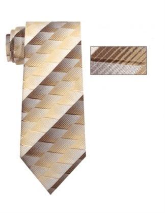 Mens Skinny Grey Plaid Microfiber Selftie Necktie