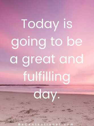 morning affirmations, powerful morning affirmations