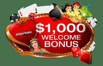 $1000 welcome bonus