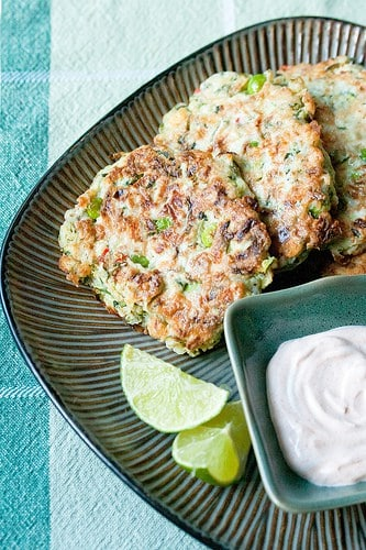 Greek Fritters with Zucchini and Feta