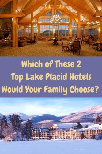 The golden arrow resort and crowne plaza are family-friendly lake placid, ny hotels that offer great location, amenities and value in summer or winter. #lakeplacid #newyork #ny #adirondacks #hotels #review #family #kids