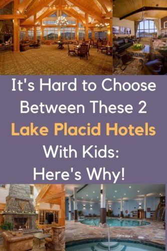 The crowne plaza and golden arrow are 2 kid-friendly hotels right on main street in lake placid, ny. We compare rooms, amenities and more to help you pick the right one for you. #lakeplacid #newyork #ny #adirondacks #hotels #review #family #kids