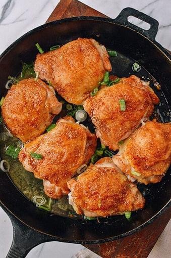 Christmas dinner-paprika chicken