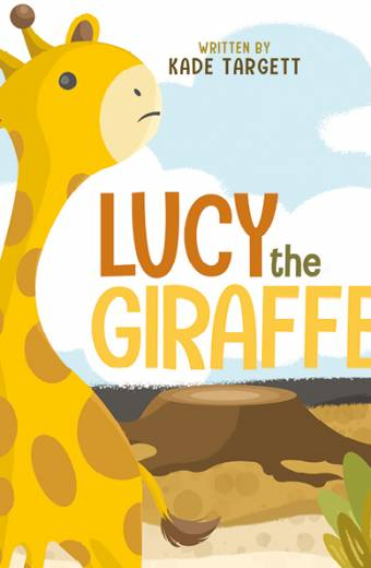 lucy the giraffe, book printing on demand melbourne, self publishing