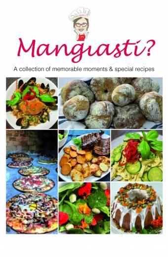 Mangiasti recipe book, book printing on demand melbourne, self publishing