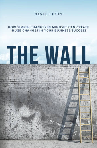 The Wall business mindset cover