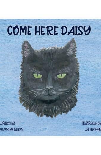 Come Here Daisy Children's Picture Book Cover