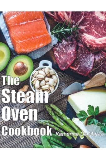 Steam Oven Cookbook Cover