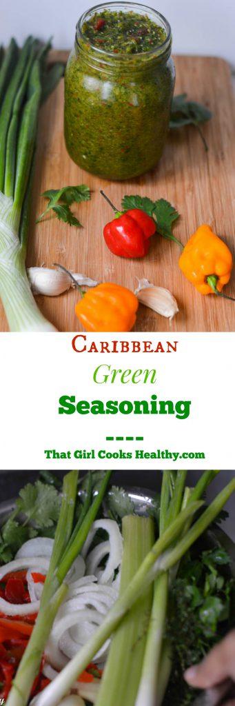 Caribbean green seasoning
