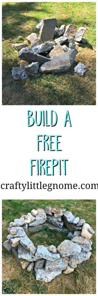 build a free fire pit