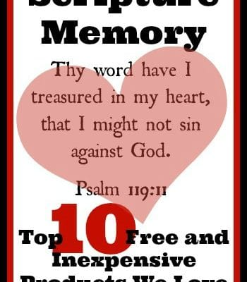 Scripture Memory Products we Love