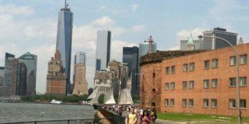 Governor's island is a 5-minute ferry ride and world away from manhattan