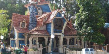 Goofy's house in toon town, disneyland