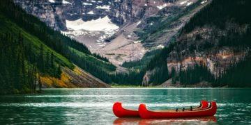Lake louise's amazing view