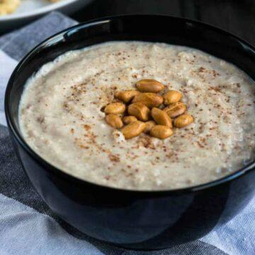 Big bowl of porridge