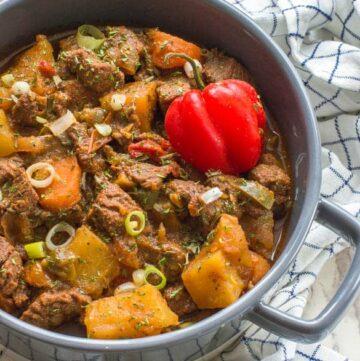 Jamaican beef stew