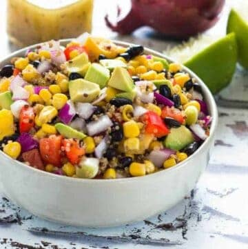 summer salad in a bowl