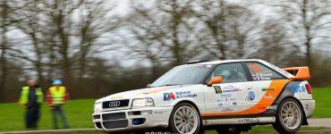 Gerben Brouwer en Niels Kroeze - Audi Quattro S2 - Zuiderzeerally 2019