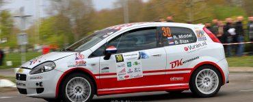 Ruud Middel & Bart Stax - Fiat Grande Punto Abarth R3D - Visual Art Rally 2019