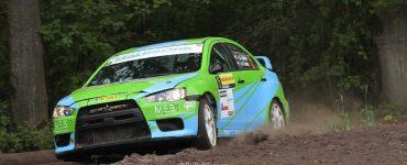 Roel van der Zanden & Ilse van de Sande - Mitsubishi Lancer Evo X - ELE Rally 2019
