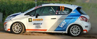 Hermen Kobus & Martin Nortier - Peugeot208 R2 - GTC Rally 2019