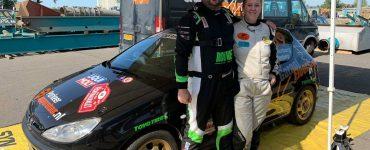 Alex Eisenberg & Anita Eisenberg - Peugeot 206 - Vechtdalrally 2020