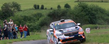 Charles Munster - Opel Corsa Rally4 - South Belgian Rally 2021