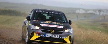 Timo van der Marel & Rebecca van der Marel - Opel Corsa-e - ADAC Holsten-Rallye 2021