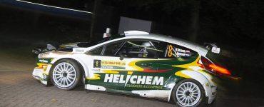 Henk Vossen & Lieke Bouman - Ford Fiesta R5 - ELE Rally 2021