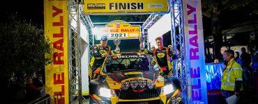 Kevin van Deijne & Hein Verschuuren - Skoda Fabia R5 - ELE Rally 2021