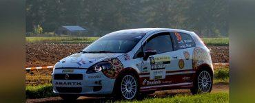 Ruud Middel & Bart Stax - Fiat Granda Punto - ELE Rally 2021
