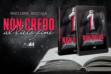 Cover reveal   Non credo al lieto fine di Marilena Boccola