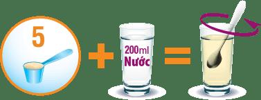 Cách pha sữa Glucerna 850g - sữa dành cho người tiểu đường
