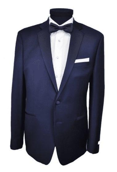 New Mens Navy Blue Calvin Klein Slim Fit Tuxedo Set