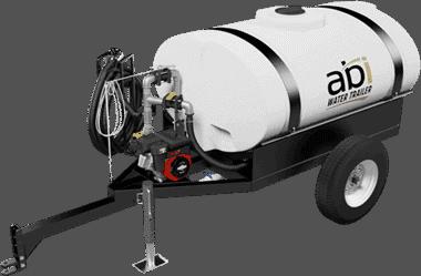 300 Gallon Compact Water Trailer