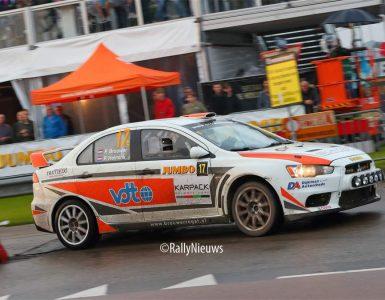 Pierre Brouwer & Paul Helmink - Mitsubishi Lancer Evo X - GTC Rally 2021